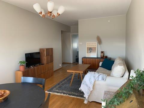 Άνετο κεντρικό διαμέρισμα με WIFI και δωρεάν χώρο στάθμευσης