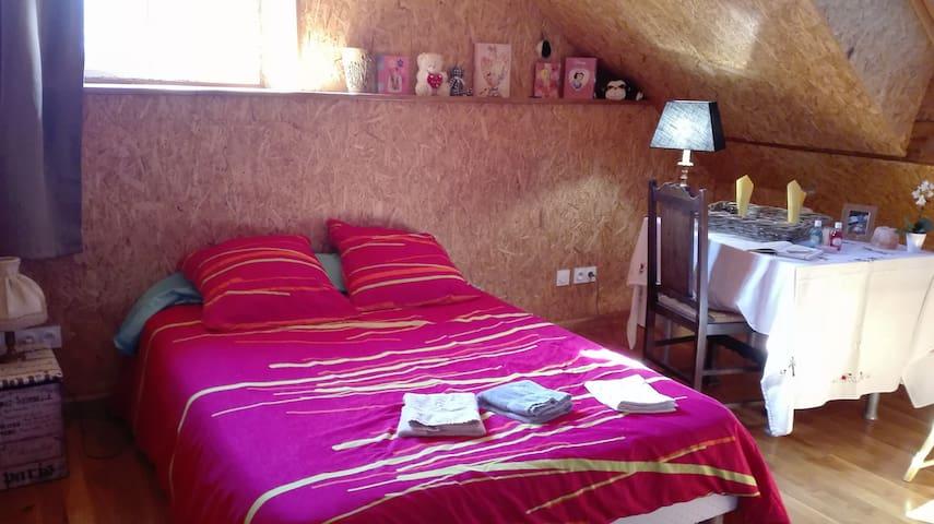 Chambre Spacieuse au cœur des Vosges Saônoises