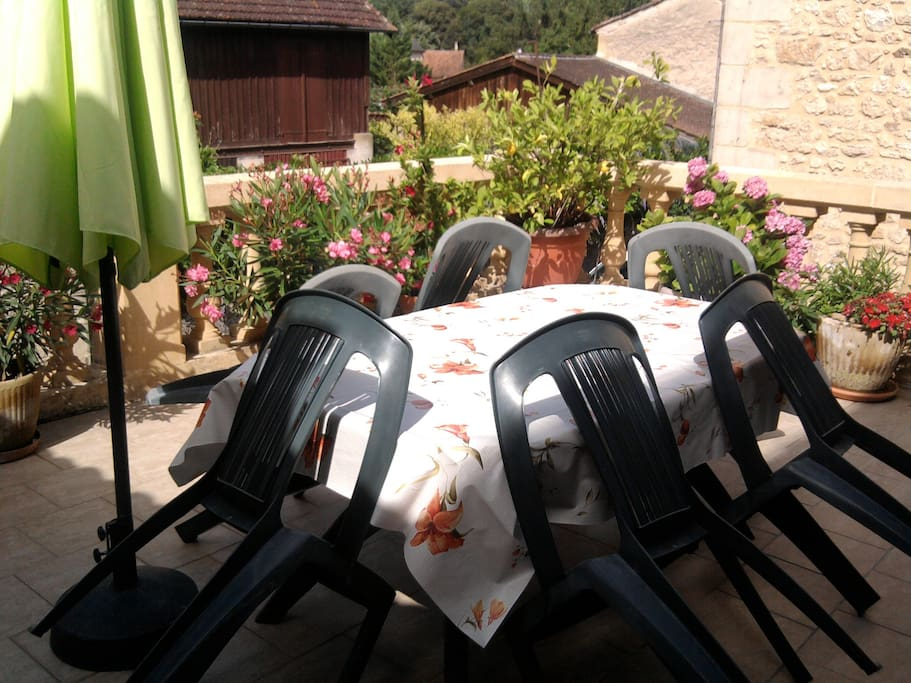 terrasse & barbecue