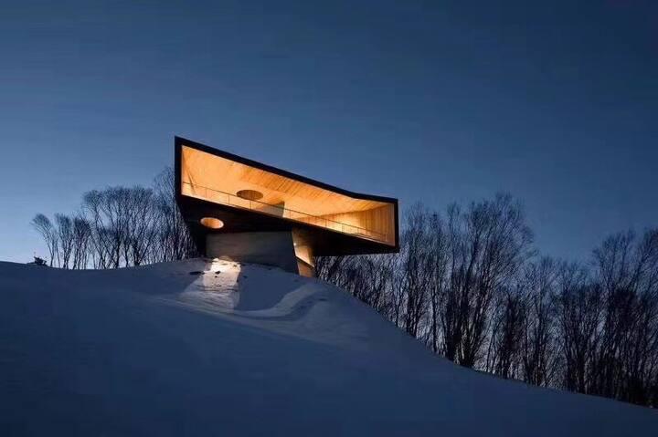 吉林松花湖滑雪度假区山月小居山景精装公寓