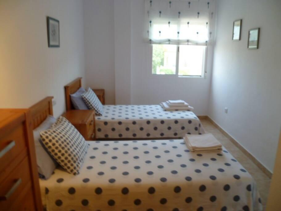 Second first floor bedroom with en-suit bathroom