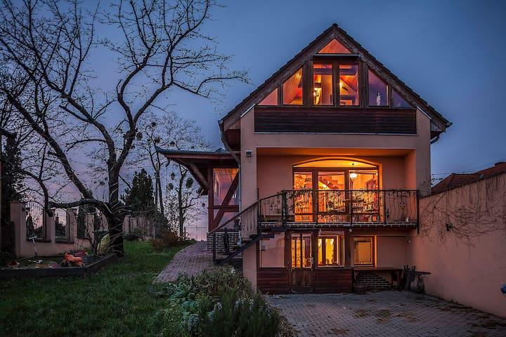 Panoráma a zalai dombokra - Zalaegerszeg - Huis