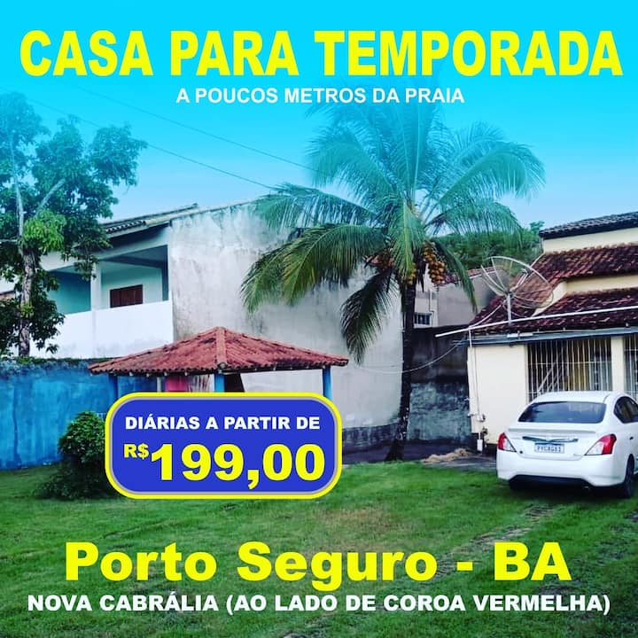 Casa de praia em Porto Seguro