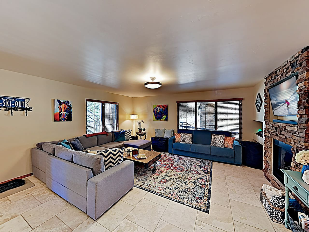 Welcome to Taos Ski Valley! This condo is professionally managed by TurnKey Vacation Rentals.