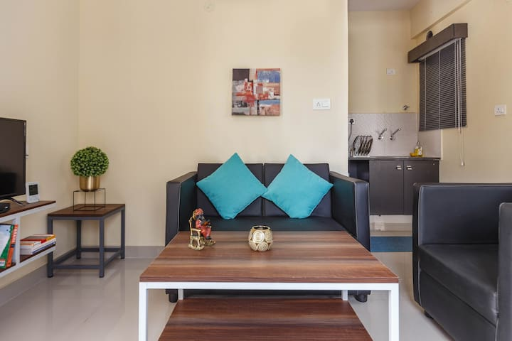 2BHK with Free Car Parking near BROOKFIELDS
