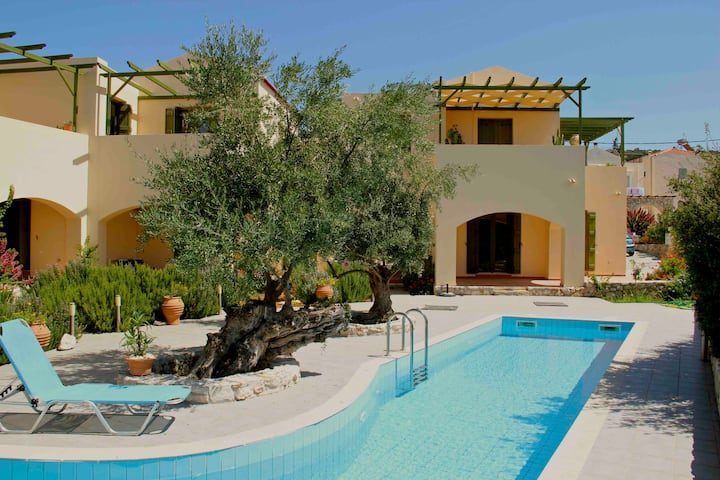 Quiet apartment with pool: Marilena Olive Tree