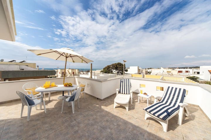 602 Penthouse at 50Mts from the Sea - Lido Marini