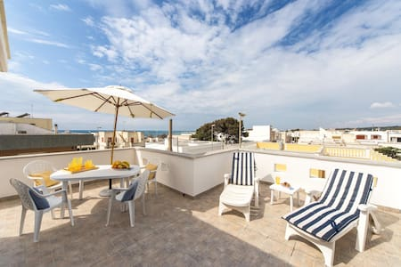602 Penthouse at 50Mts from the Sea - Lido Marini - House