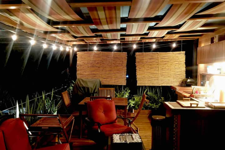 Roof garden y suite de lujo especial para parejas