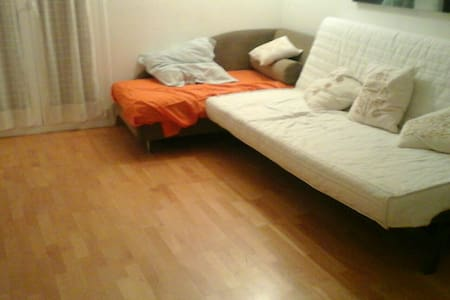 Wonderful flat in the center of Barcelona, Five minutes from las ramblas. Ideal for couples, four people maximum. All clean and new, to enjoy Barcelona walking from home.