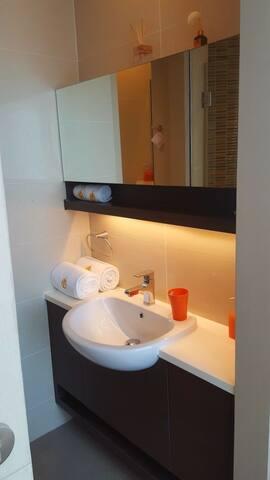 1-bedroom water-view loft apartments at Bangtao