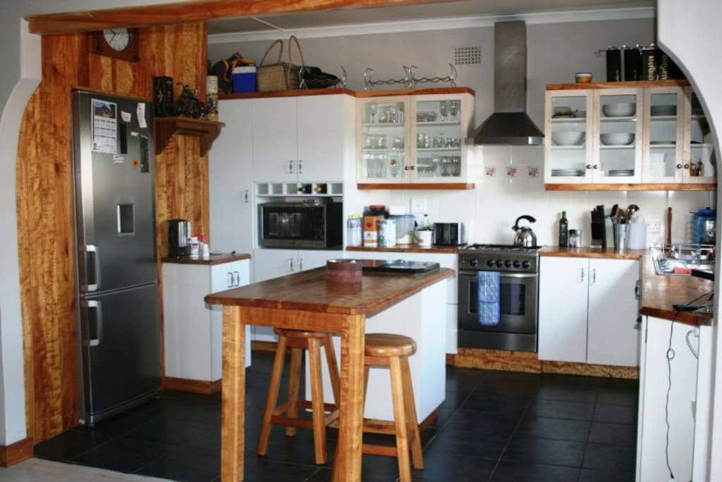Beautiful and fully equipped country kitchen
