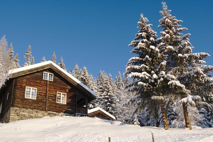 Øvre Stigen - koselig hytte med fantastisk utsikt