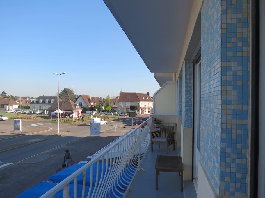 Vue balcon côté ville