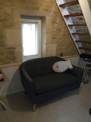 Maisonnette sur côte normande - Luc-sur-Mer