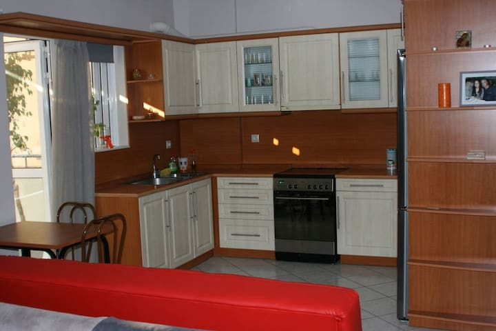 Room fully equipped in Athens with semi-double bed - Vironas - Apartment