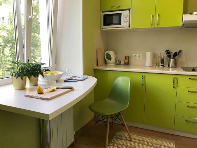 Eco apartment close to Arbat street