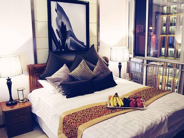 沈阳太原街中华路CMD精品酒店式公寓 - Shenyang - Apto. en complejo residencial