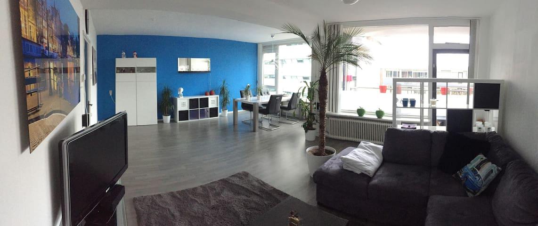 Ruim Appartement, veel licht, FREE-WIFI - Apeldoorn