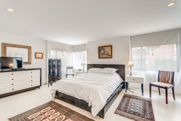 Cómodo apartamento de 3 habitaciones - La Cabrera