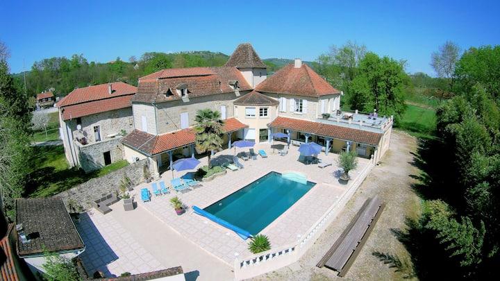 Maison de vacances, piscine chauffée
