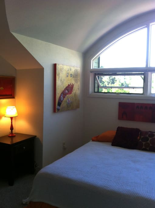 Airy room with North facing windows