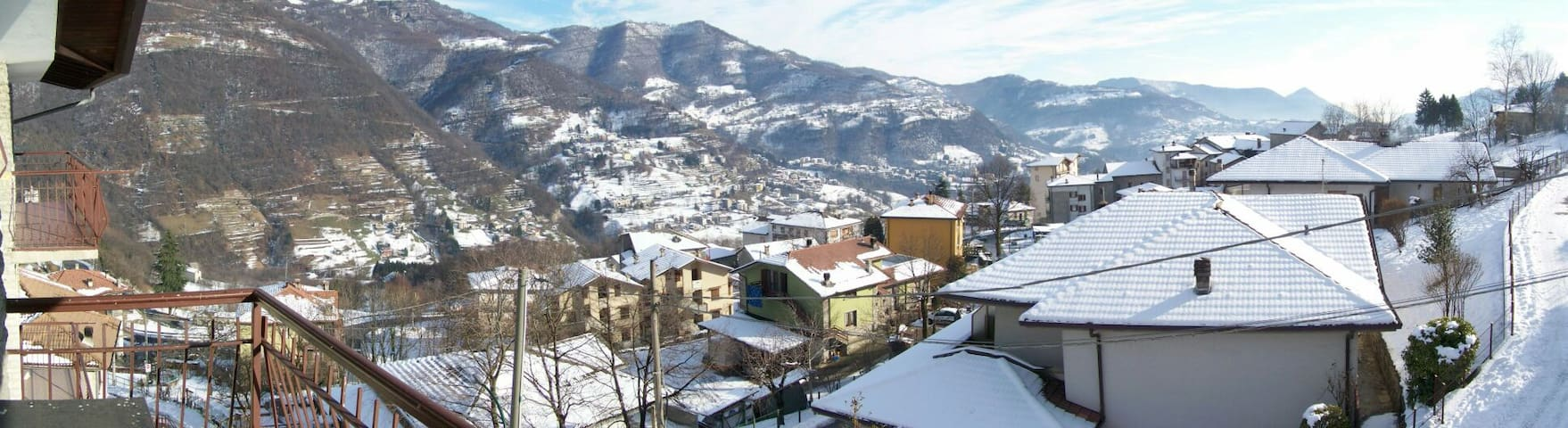 Nice apartment on quiet hill - Rota d'Imagna