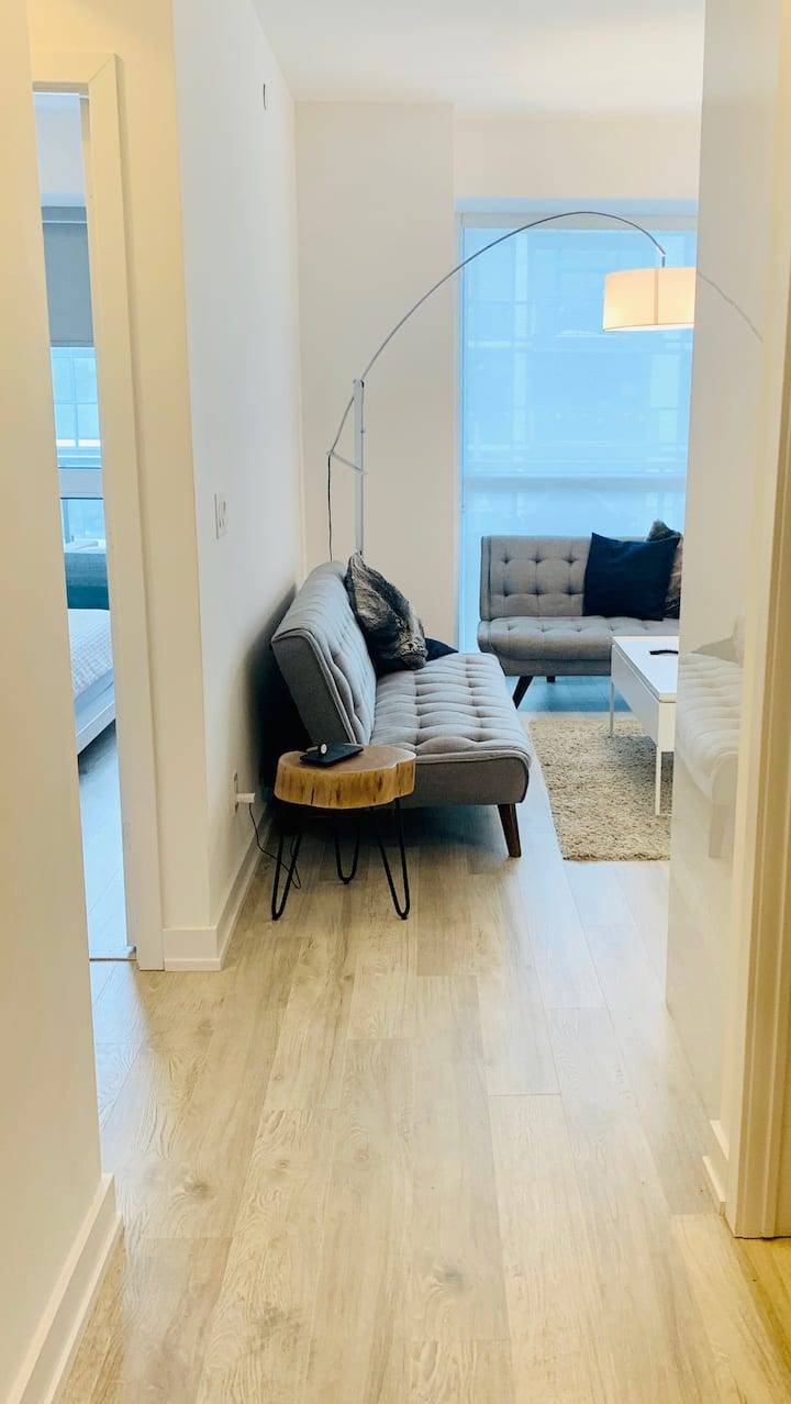 Modern two bedroom escape at Friday Harbour