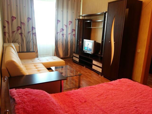 Чистая уютная квартира в центре города Пр.Победы