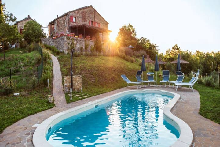 Scenic Holiday Home in Civitella Paganico with Pool