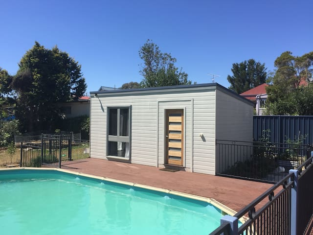 Sunny Poolside Studio