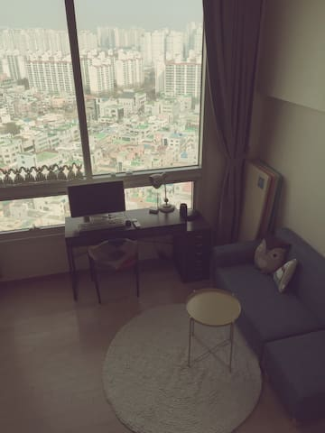 Jina's sky lounge (only one bed room/female only) - Cheonan-si - Lejlighed