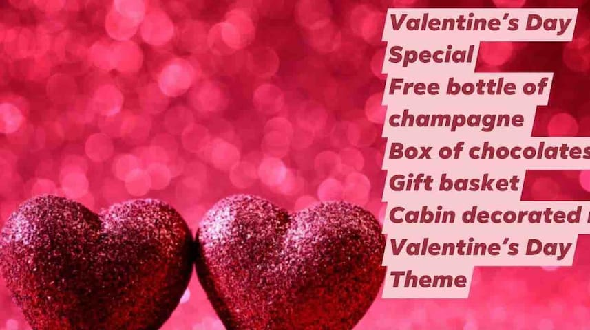 Coyote's Cabin Valentines Day Special Booking Now
