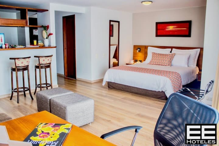 Leblón Suites Hotel STD 1 - con Desayuno Americano