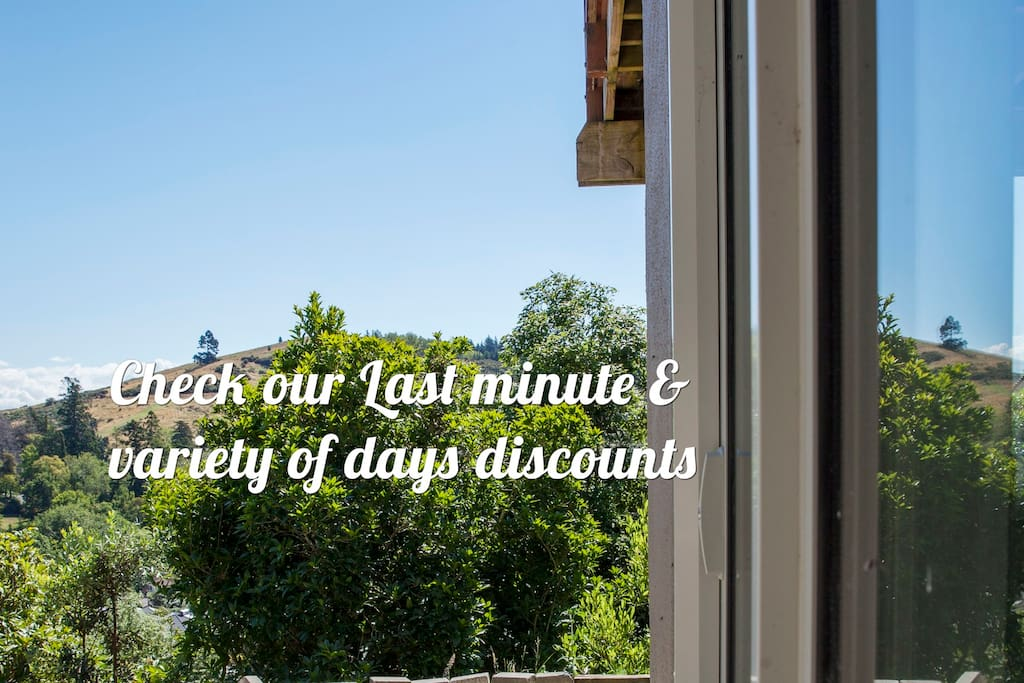 We offers Last Minutes, 3 days, Weekly, Monthly stay discounts. Try-on different dates and see the result of your final cost (also, Airbnb guest's service fee drops significantly when you stay a week or longer!)