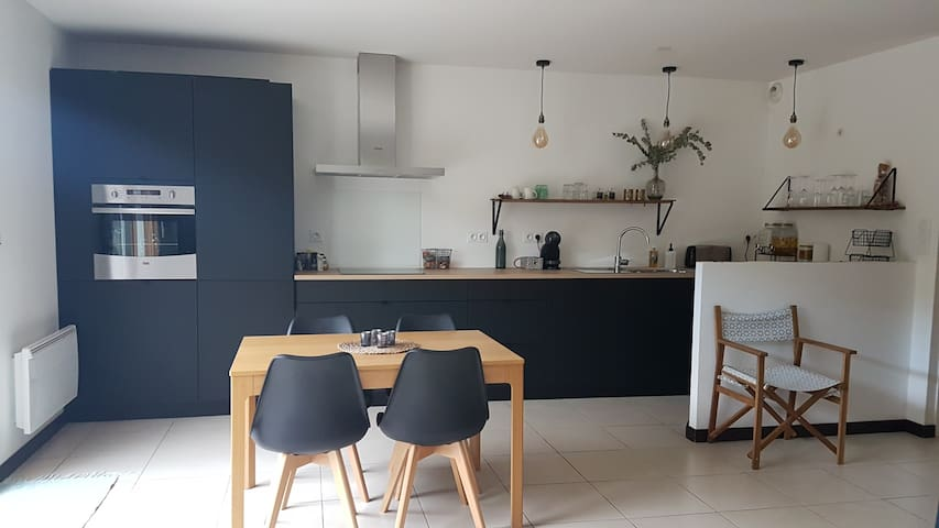 Joli appartement duplex centre bourg