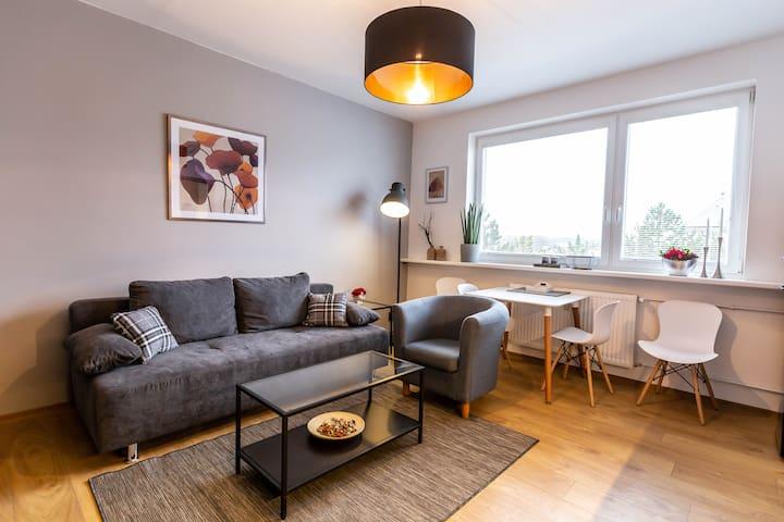 Nádherný apartmán v centru Českého ráje