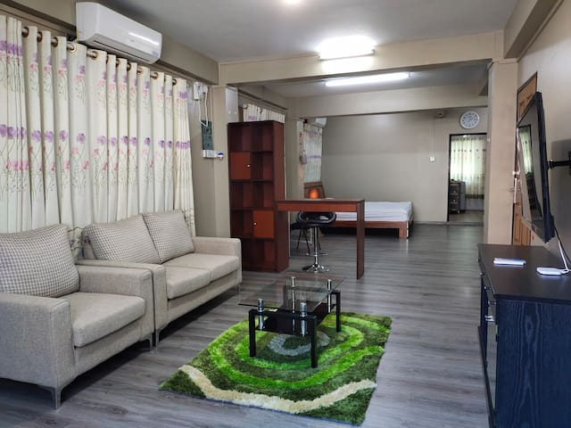 3rd Floor! Warmly welcome on your stay in Yangon.