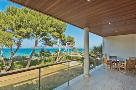 Frontline Sea View Apartment 300 m to the beach - Pollença - Wohnung