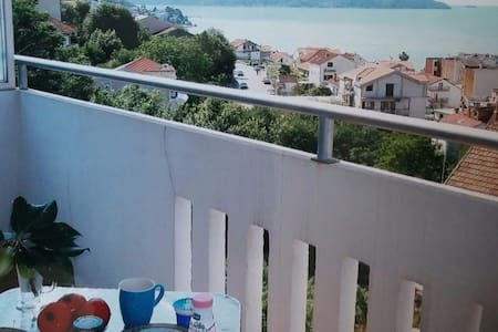 2 room App. balcony with great view and kitchen.