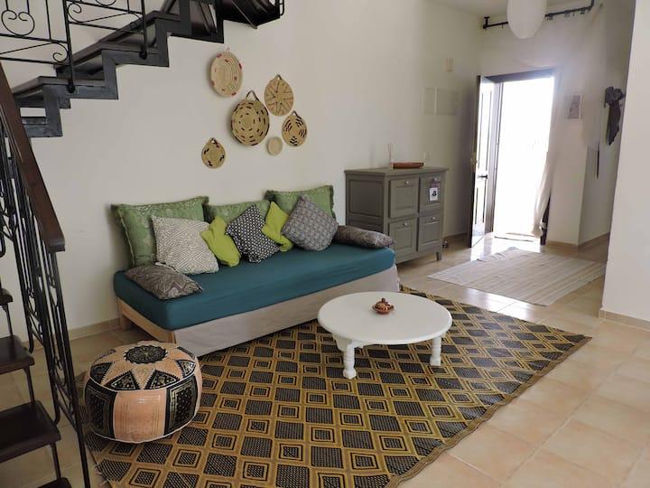 Appartement 150m2 dans résidence avec piscines