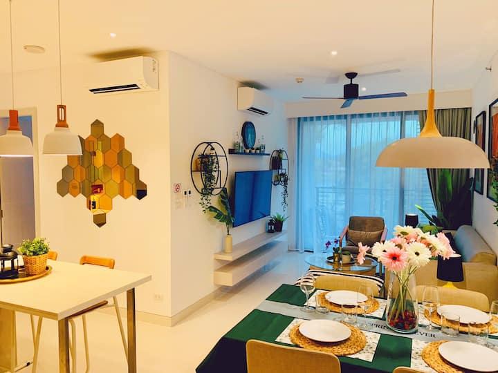 VS【Zing ! 】Amazing 2br luxury flat -Bangtao Beach