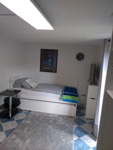 Nette kleine 1-Zimmer-Wohnung mit Garten