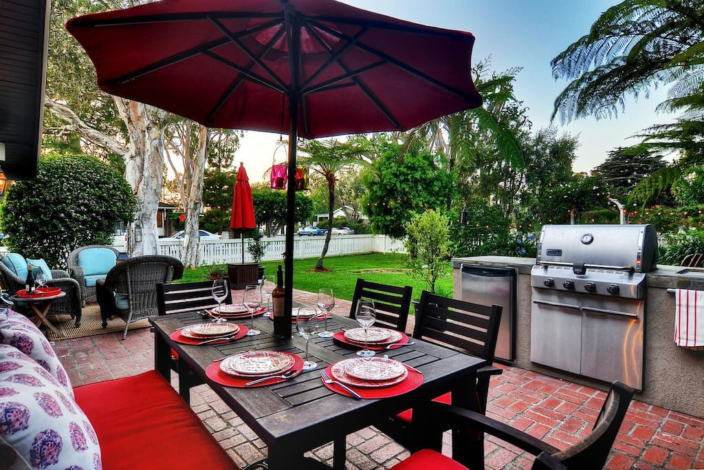 Beautiful backyard and patio that you will fill with laughter and memories.