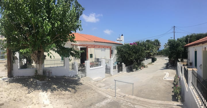 Andros House on the beach of Andros Town.