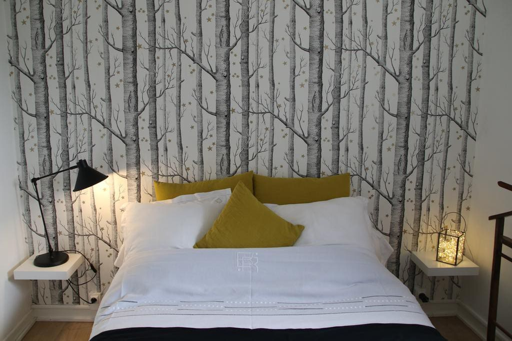 Une chambre inspirant le repos