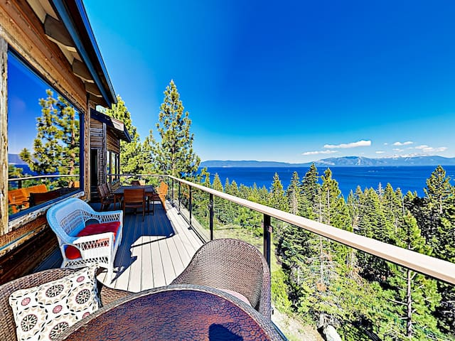 New Listing! Tahoe Dream w/ Panoramic Lake Views