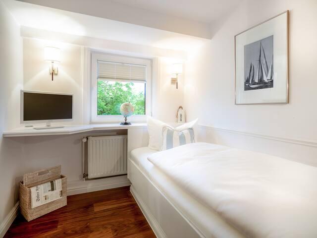 Einzelzimmer (01) - Long Island House Sylt