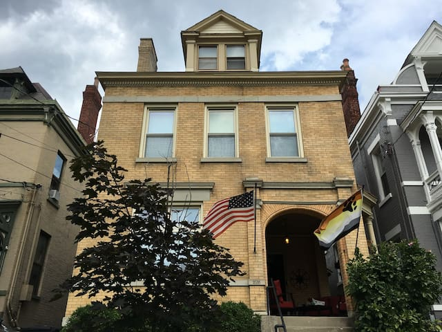 Third Floor Apt. in Historic Home - Cincinnati - Apartemen