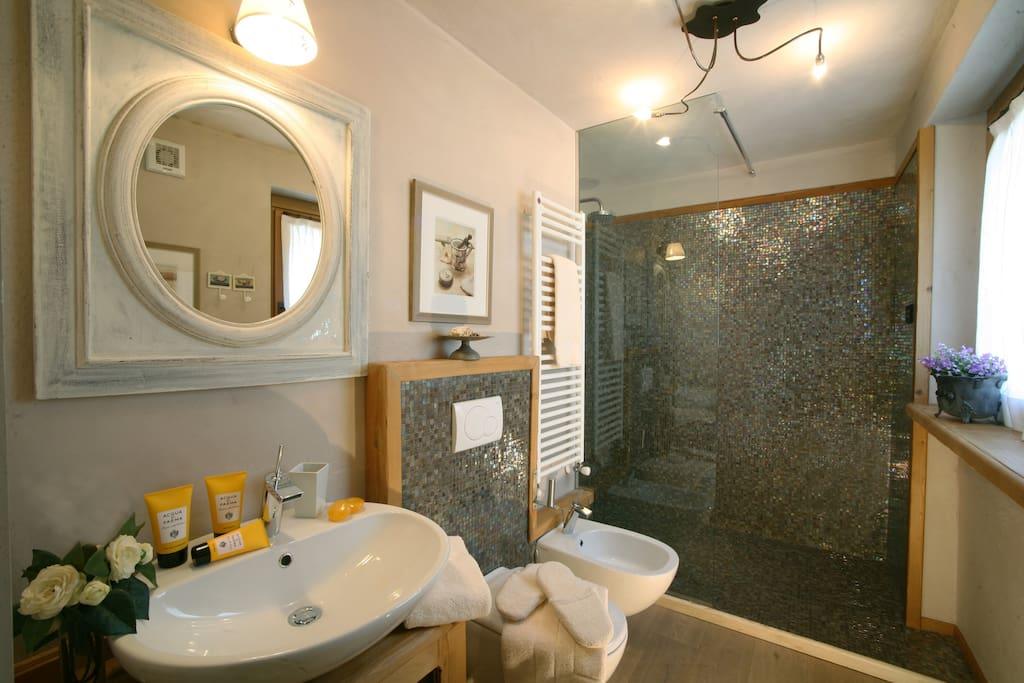 Chambre des Alpages - bathroom